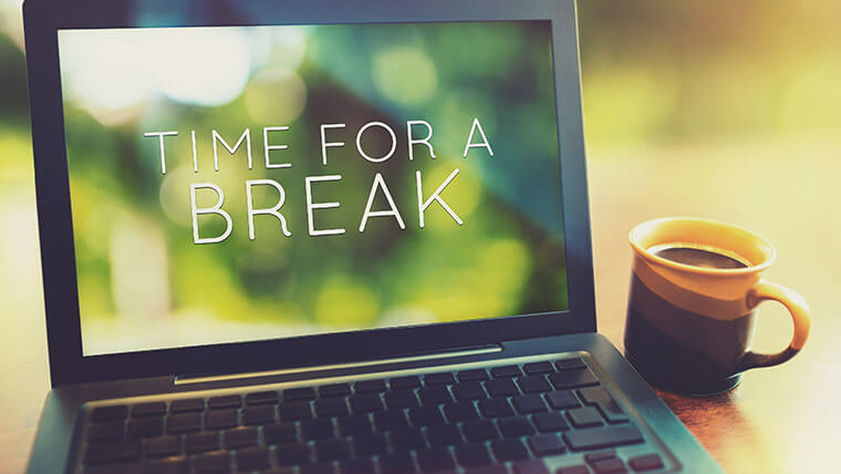 Taking Breaks at Work - How to Motivate Staff