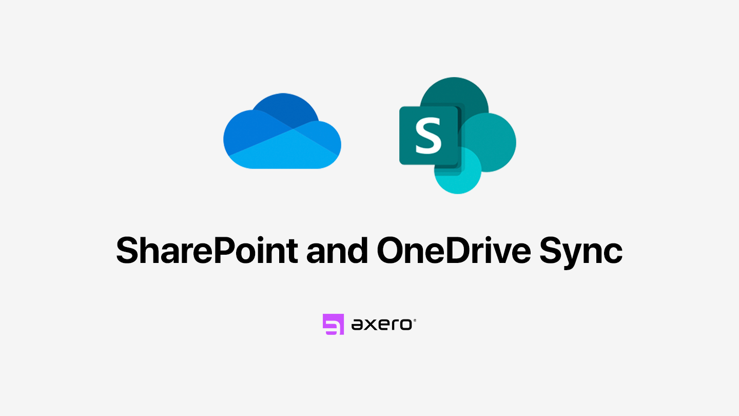 SharePoint and OneDrive Sync