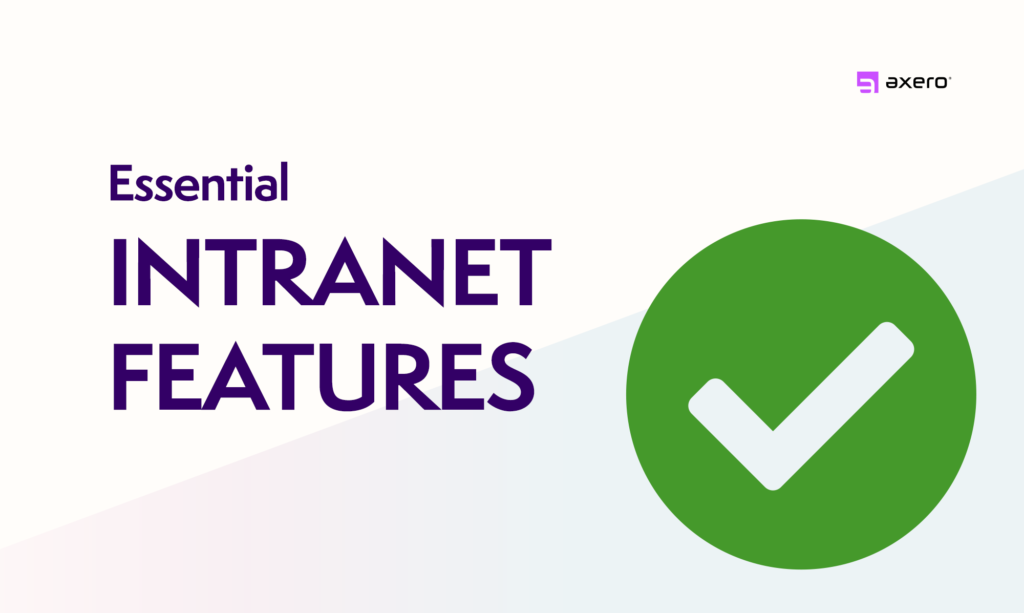 Intranet Features